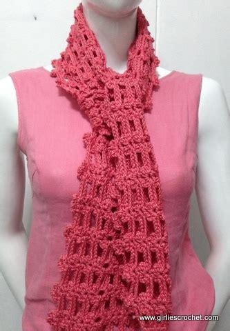 simple pattern crochet scarf easy crochet scarf 2
