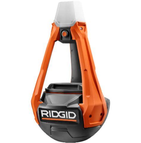 rigid led lights ridgid hybrid wobble style led area worklight review