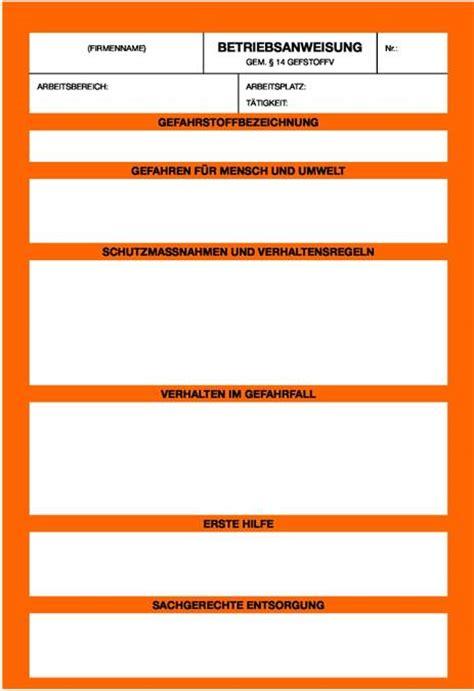 Vorlage Betriebsanweisung Blau Umwelt Demo Archivdatei Bgi 578 Dguv Information 211 010 Sicherheit Durch