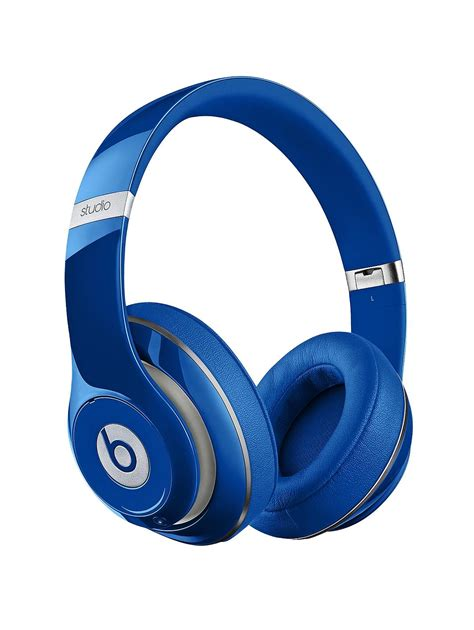 Studio By Beats Headphone Studio By Dr Dre beats by dr dre studio wireless ear headphones blue co uk