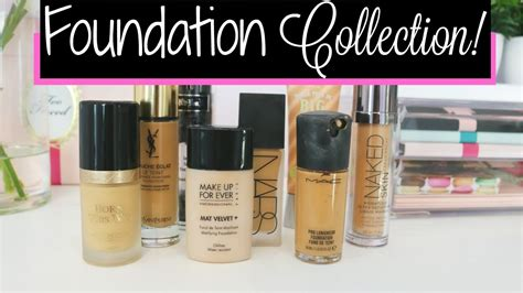 Foundation High End High End Foundation Collection Mini Reviews Makeup