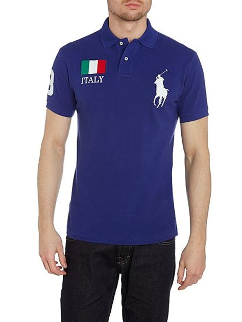Polo Shirt Italy 01 R9nf redirect
