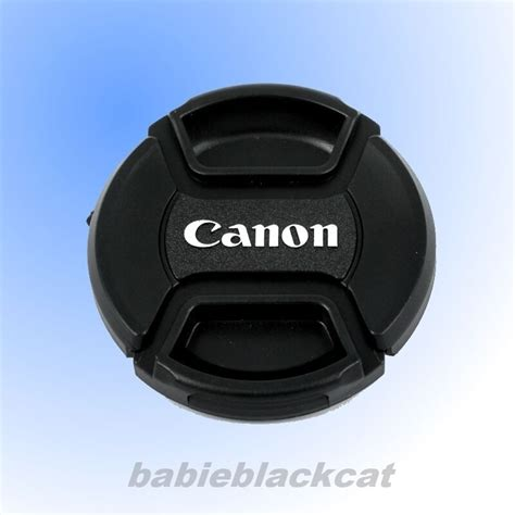 Lenscap 52mm For Canon new 52mm front lens cap snap on cover for canon ebay