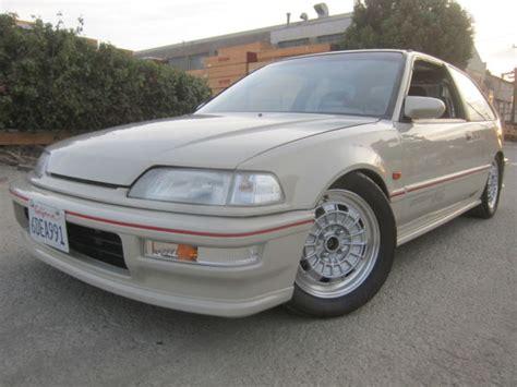 Honda Civic Si Hatchback For Sale by 1991 Honda Civic Si Hatchback Vtec Type R Mugen Nr 10