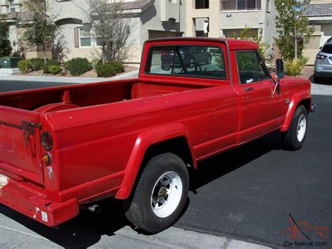 1969 Jeep Gladiator 1969 Jeep Kaiser J3000 Gladiator V8 4x4 P S P B A C