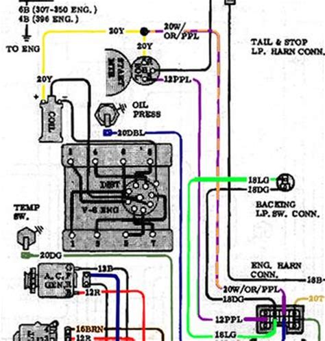 small block chevy hei distributor wiring diagram small