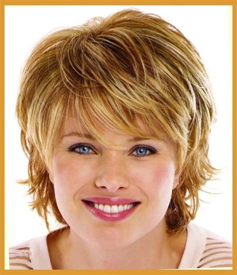 hairstyle for heavier face on woman short haircut styles for women with round face short