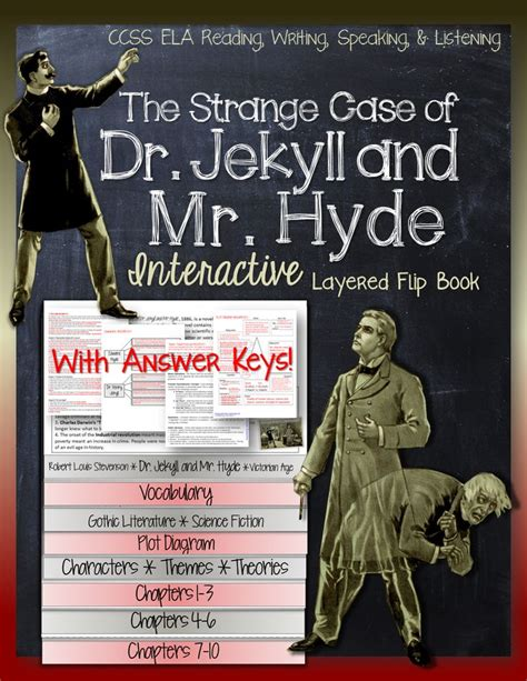 themes dr jekyll mr hyde the strange case of dr jekyll and mr hyde interactive
