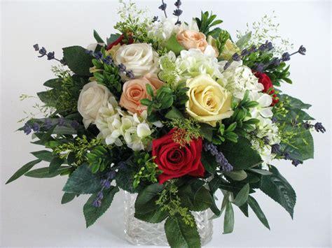 How To Make A Bouquet Of Roses With Paper - datei rosenstrau 223 aus seidenblumen und pr 228 parierten