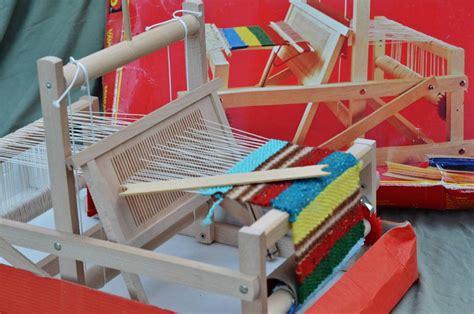 brio wood table top weaving loom sweden rigid heddle age 5