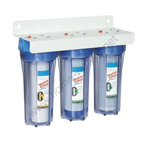water purifier for 3 stage wall mounted water purification new triple 10 inch