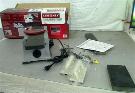 bench jointer uses craftsman 7 5 4 1 8 bench top planer jointer 21789