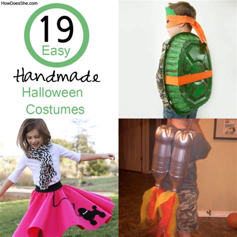 Handmade Costume Ideas - 19 easy costumes how does she