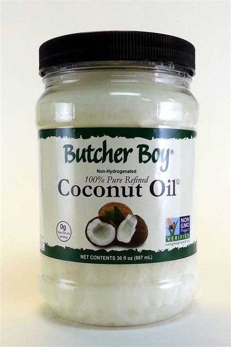 ultra pure l oil 100 oz butcher boy coconut oil 30 ounce 100 pure refined