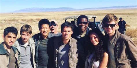 aktor film maze runner dylan o brien s maze runner co stars and colleagues have