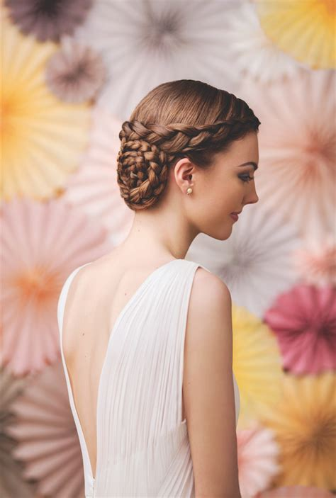 braid updo s destiny magazine our new favorite bridal hairstyle the braided updo