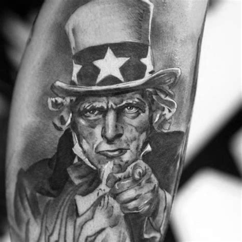 uncle sam tattoo 30 sam designs for american ink ideas