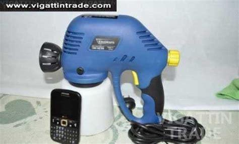 spray painter required taurus electric spray paint gun no compressor needed