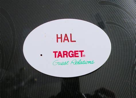 target name target employee name badge
