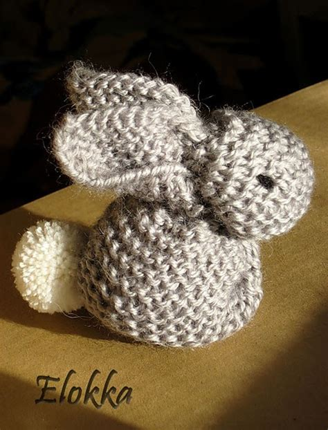 Sb 630 Knit the nutty knitter s knitted bunny