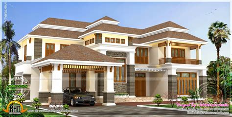 4000 square foot house 4000 square feet luxury home home kerala plans