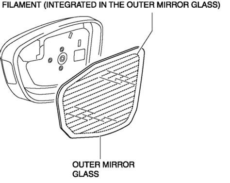 nissan rear view mirror wiring diagram car repair