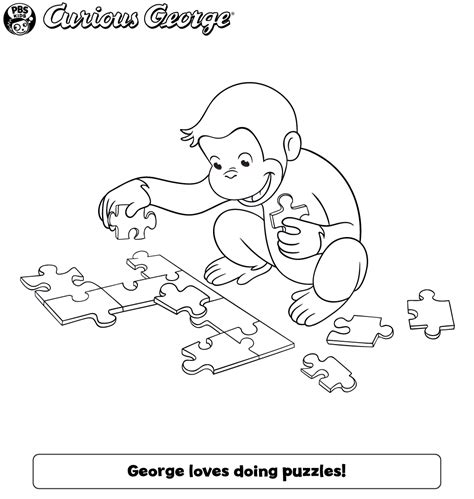curious george coloring pages games 100 pbs kids coloring pages the history of pbs kids