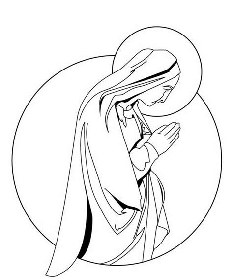 coloring page blessed virgin mary the assumption of blessed virgin mary glorious mysteries