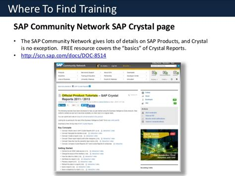 tutorial sap business one crystal reports for sap business one overview free