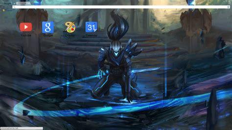 Yasuo Theme For Windows 7 | blue project yasuo theme chrome theme themebeta