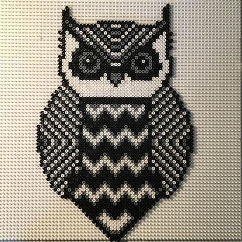 perler bead patterns owl 1000 ideas about hama design on perler