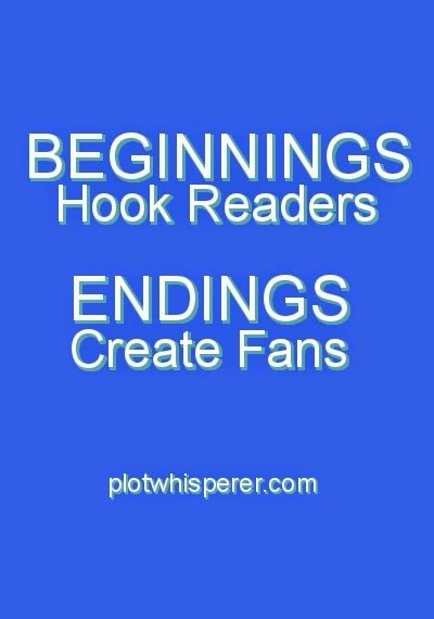 beginnings hook readers endings create fans martha