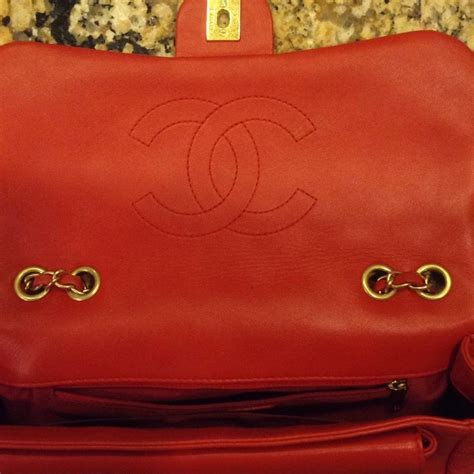 Chanel Forever Classic Purse by Chanel Lambskin Leather Classic Fla Shoulder Bag Tradesy
