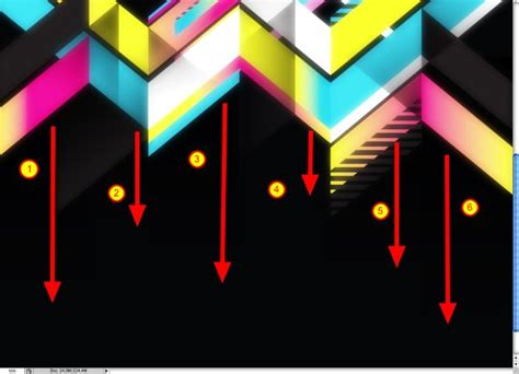 geometric vector tutorial photoshop retro geometric vectors in space with illustrator and