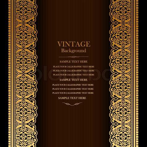 Vintage background design, elegant book cover, victorian
