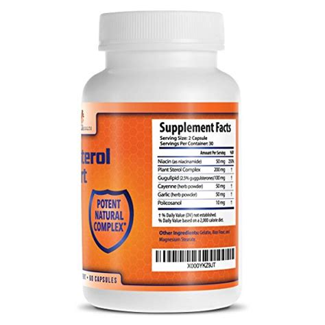 Policosanol Side Effects And Cholesterol by Cholesterol Lowering Supplements With Plant Sterols