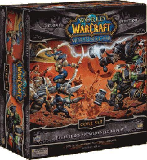 world of warcraft gioco da tavolo recensione world of warcraft miniatures la tana
