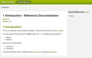 Developer Documentation Template by The Grails Framework 2 1 1