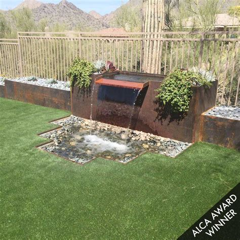 backyard leisure residential hardscape designs phoenix az sunburst
