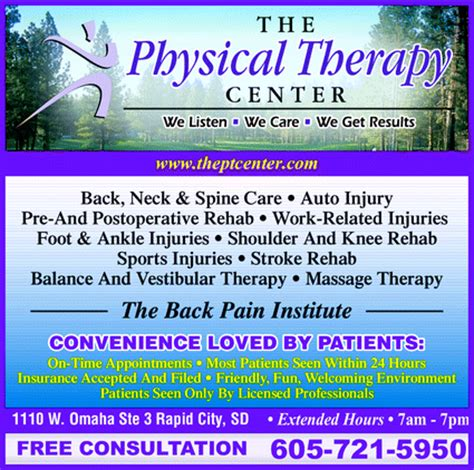 Detox Only Omaha Ne by The Physical Therapy Center Rapid City Sd 57701