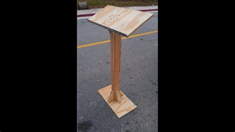 building  podium plans diy   outdoor table