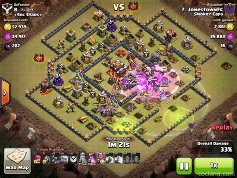 golaloon attack strategy clash of clans land 6 golem attack strategy clash of clans land