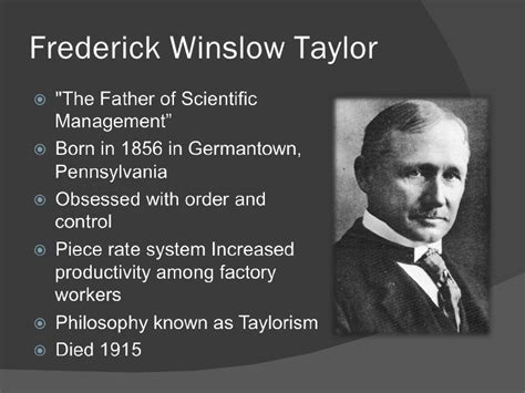 Net Mba Scientific Management by Who Was Fredrick Tylor Pdfeports173 Web Fc2