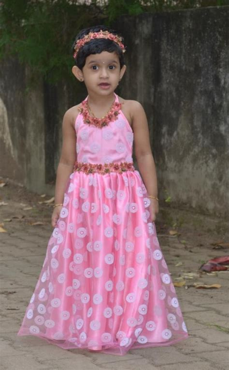 pattern for umbrella frock how to stitch a designer long frock for your child