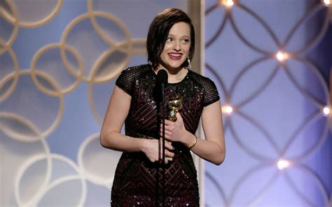 elisabeth moss mom golden globe winner elisabeth moss gets emotional talking