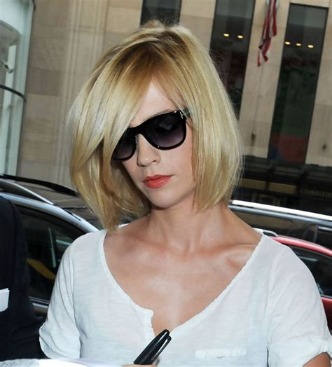 january jones bob hairstyle with layers hairstyles