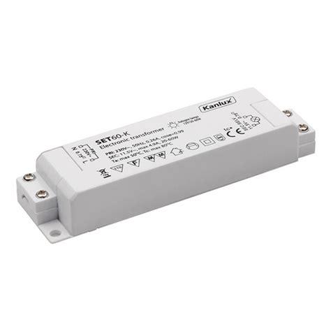 halogeenlen 12v elektronischer trafo transformator 20 60w 230v auf 12v