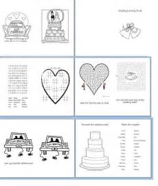 children s activity book weddingbee