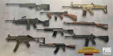 senjata serbu  mematikan  map sanhok pubg mobile