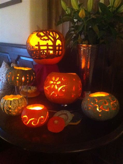 pretty pumpkin carving ideas halloween pinterest